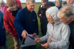 Northam Burrows history walk