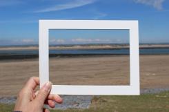 A frame around a view