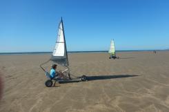 Blowkarting Westward Ho! beach