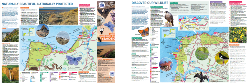Explore the AONB Map