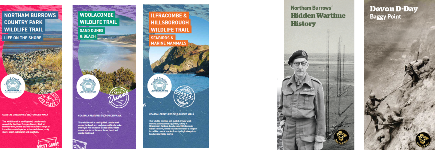Wildlife and Heritage Trail leaflets